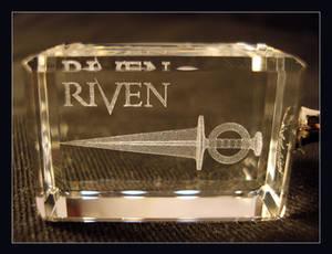 Riven Dagger 3D Keyring 1