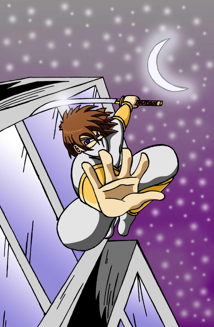 Kevin the ninja kid 1 by Ashtonmcvae