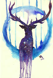deer-space by zarielcharoitite