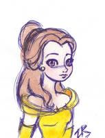 Belle by zarielcharoitite