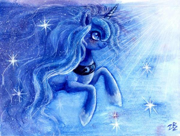 Princess Luna by zarielcharoitite