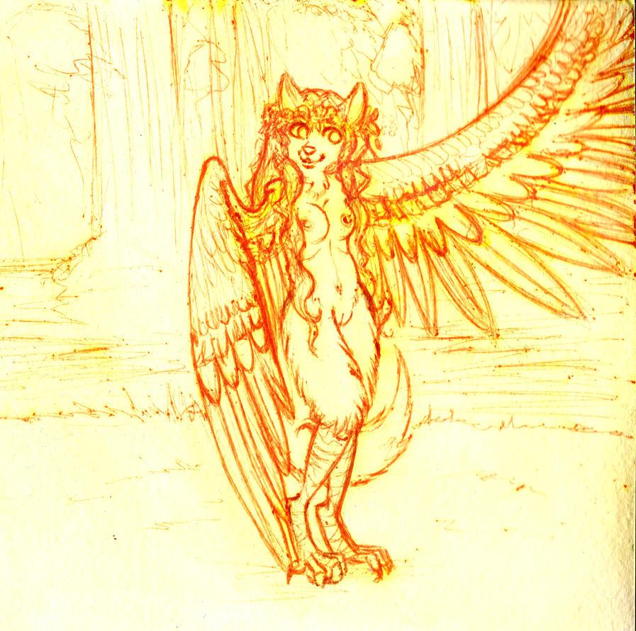 harpy by zarielcharoitite