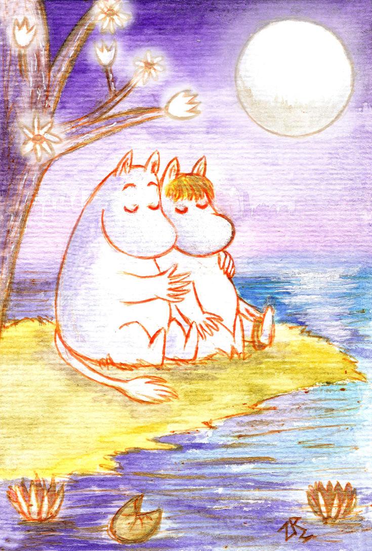 Moomin love by zarielcharoitite
