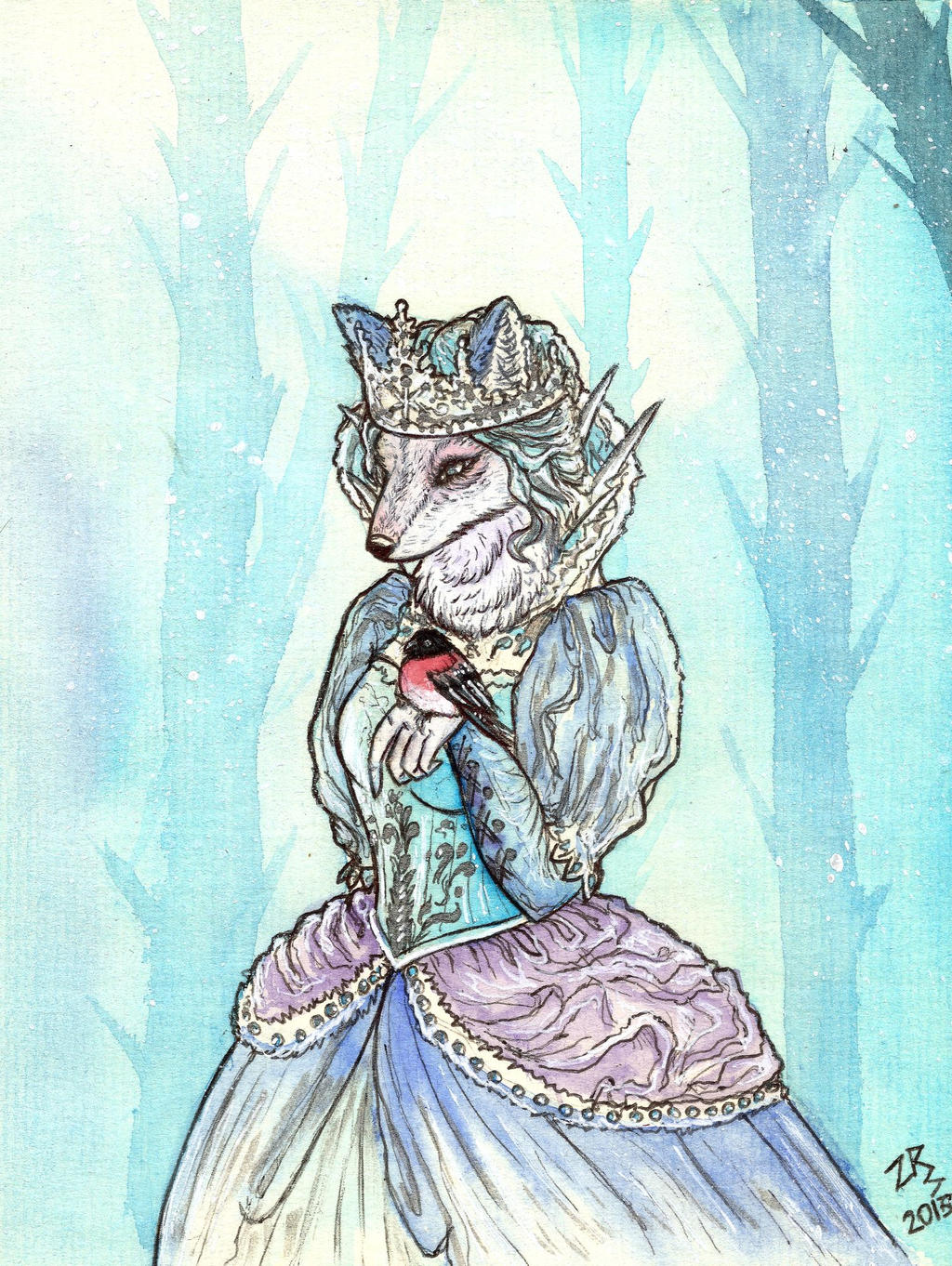 The Snow Queen by zarielcharoitite