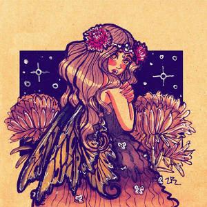 Inktober Day 04 :fairy