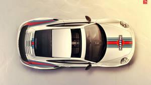 Porsche 991 Turbo S Martini Livery