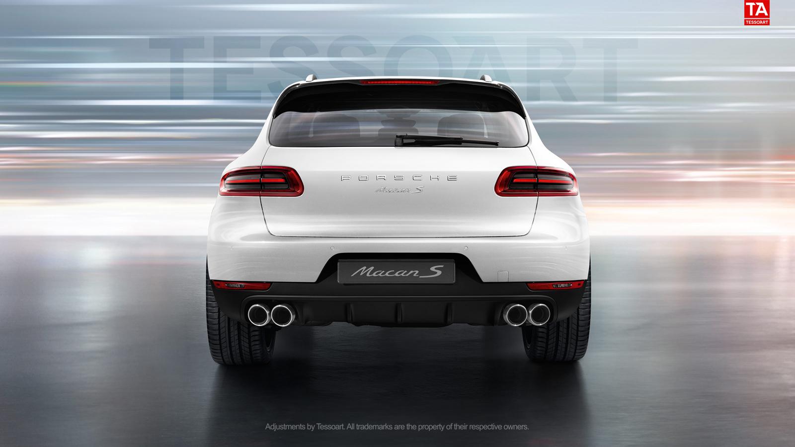 Porsche Macan Forum >> [RENDER] Porsche Macan S in white with SportDesign wheels - Teamspeed.com