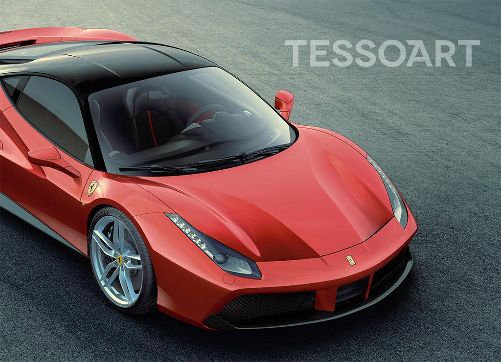 Tessoart Ferrari 488 Gtb With Small Touches