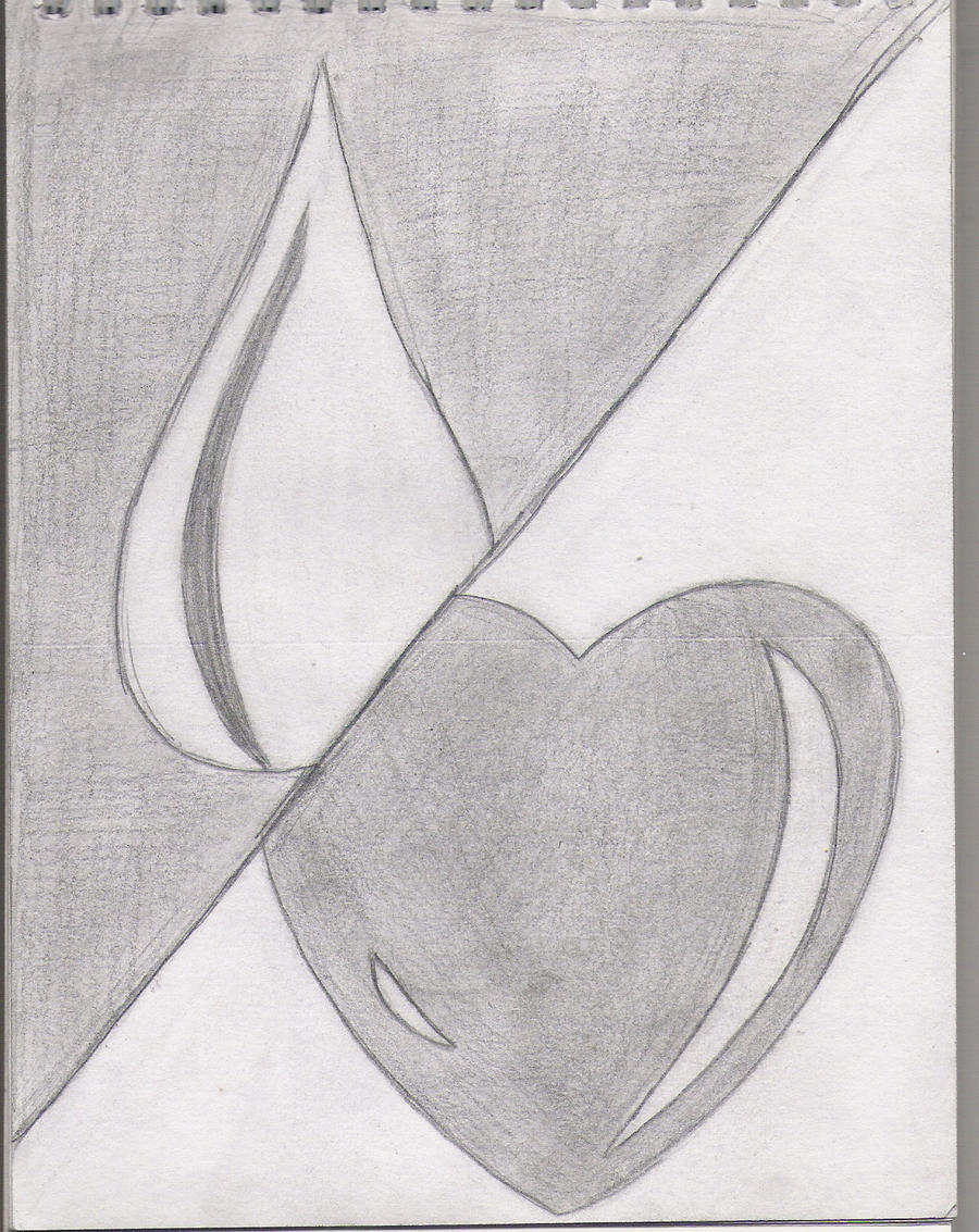 A sad love by icon luvur on deviantart for Simple drawings for love