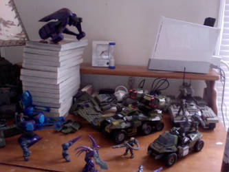 My Lego Halo Collection by SheanGomes