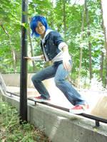 Rail Gliding by Chibiko