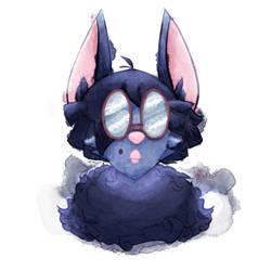 Fluffy Bat Rosslyn