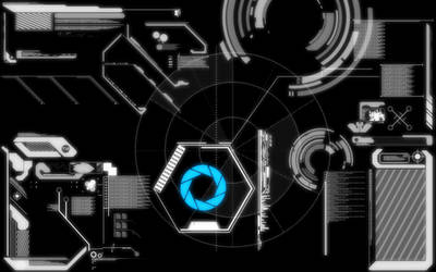 Portal Interface Wallpaper