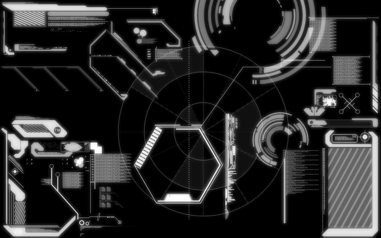 Tech Interface Wallpaper +glow By Caleb1117 On DeviantArt
