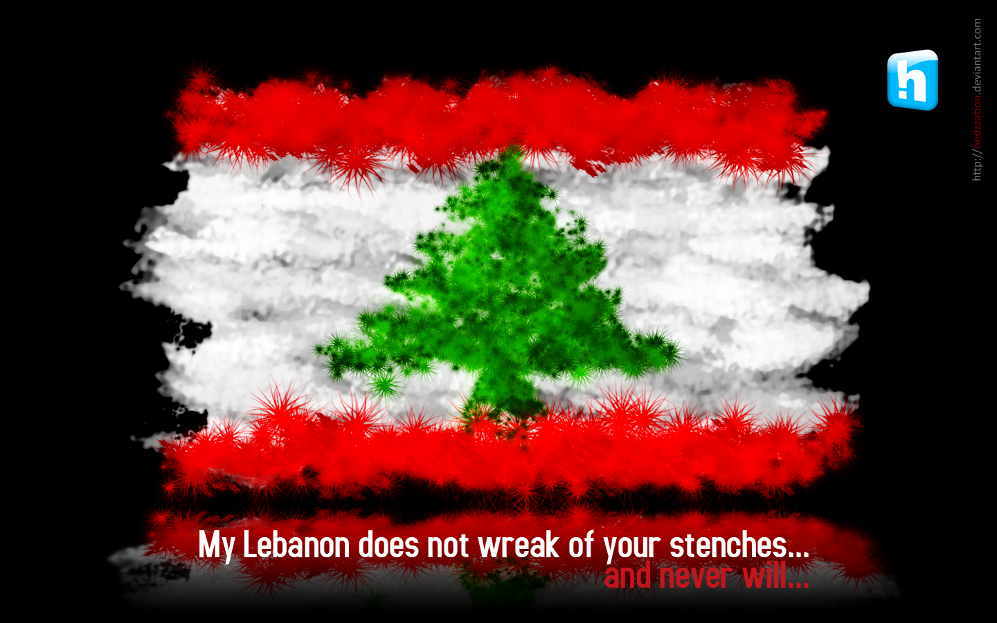 My Lebanon by HeDzZaTiOn on DeviantArt
