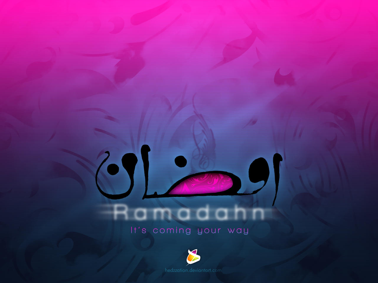Ramadahn blue magenta by HeDzZaTiOn