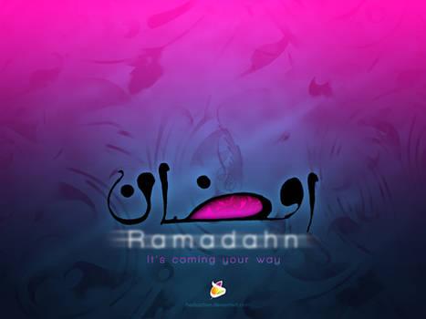 Ramadahn blue magenta