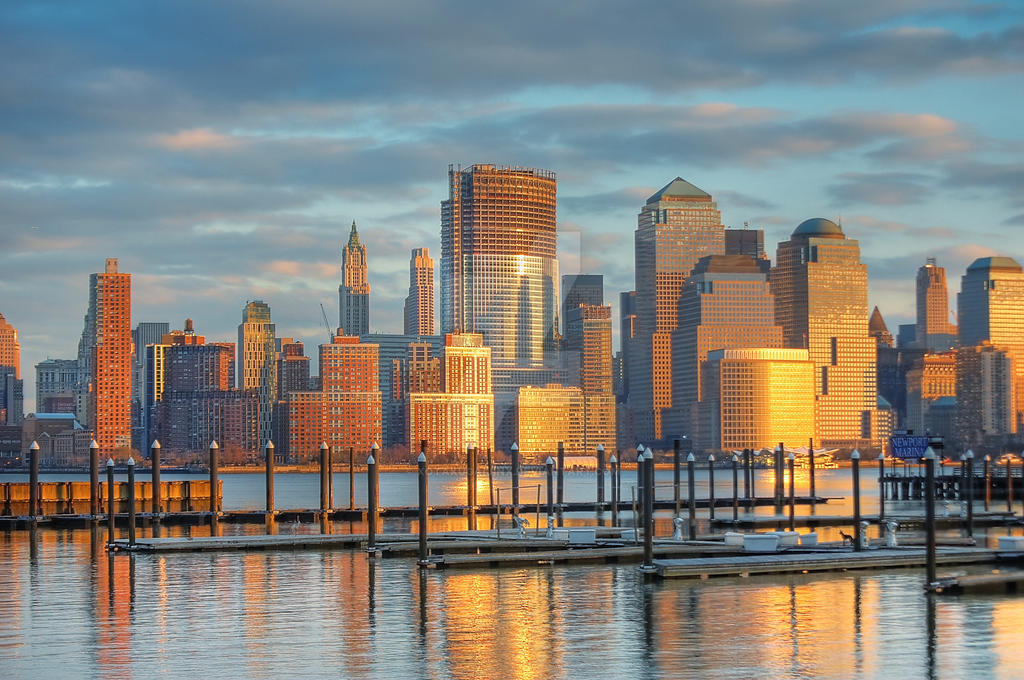 New York City Skyline HDR by xOtakuGaijinx
