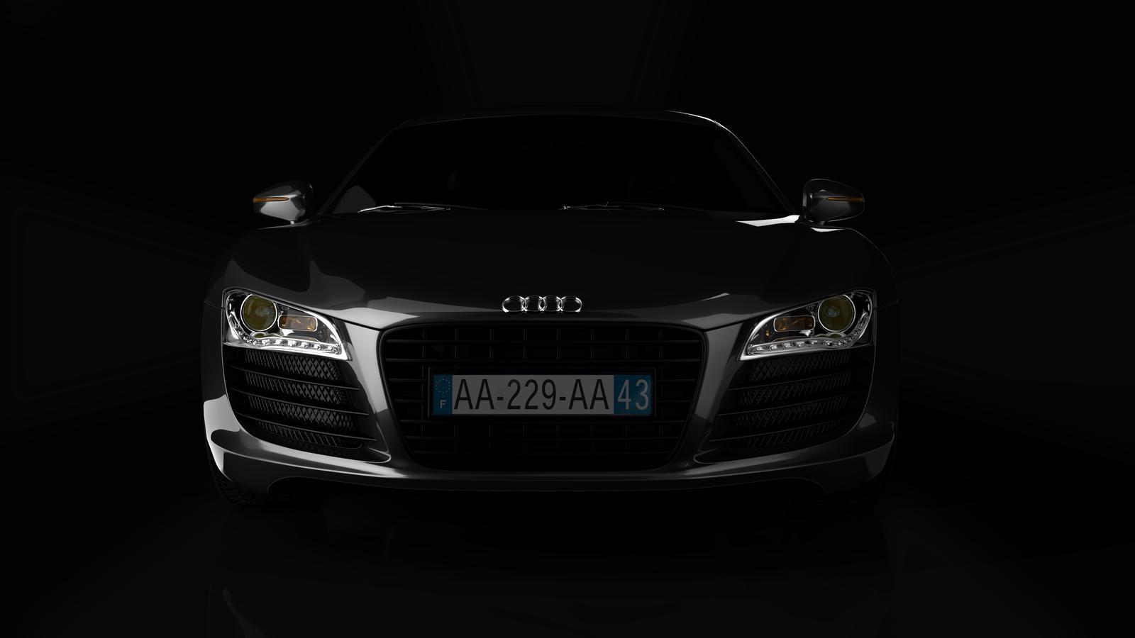 Audi R8 front by darecarcemb on DeviantArt