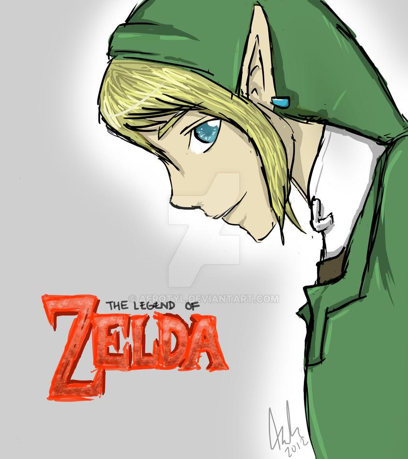 Legend Of Zelda by Aerotyl