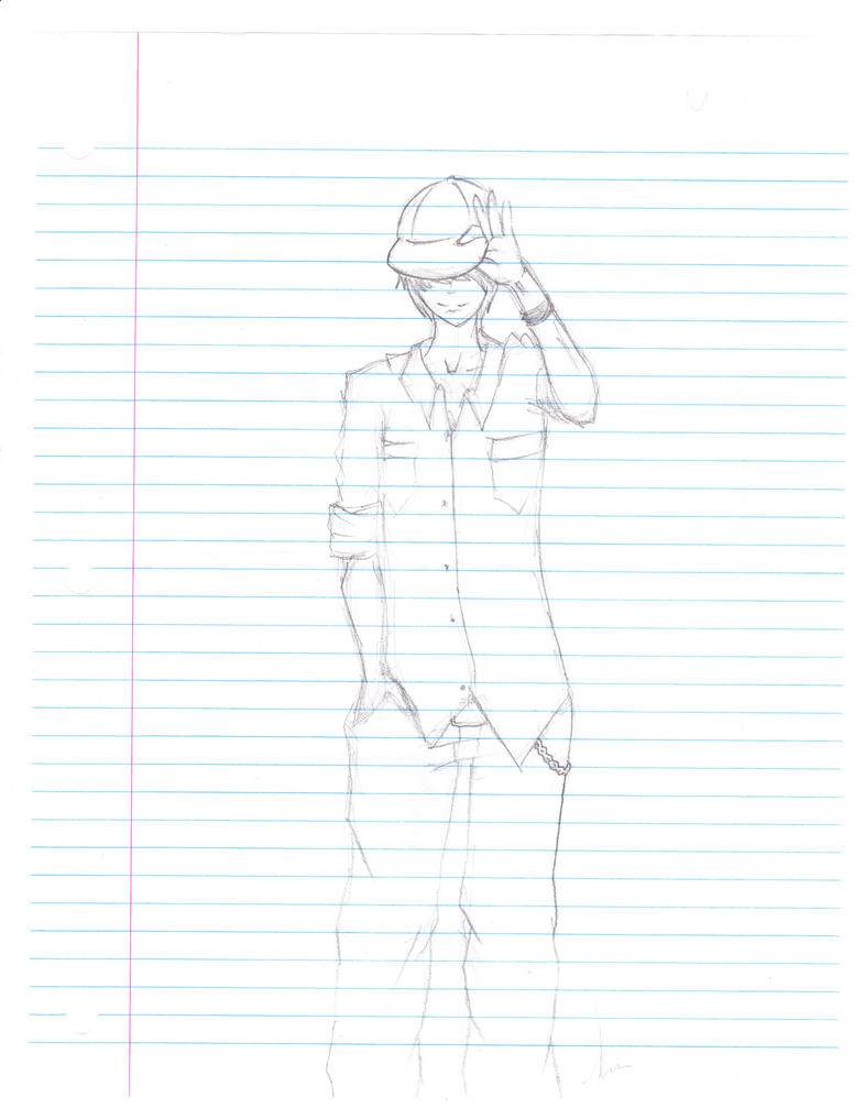 Exam sketch by Aerotyl
