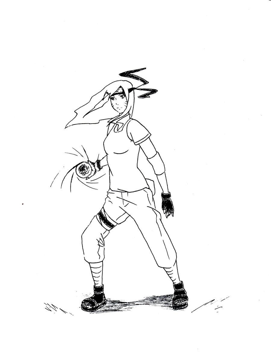 Naruko and the Rasengan by Aerotyl