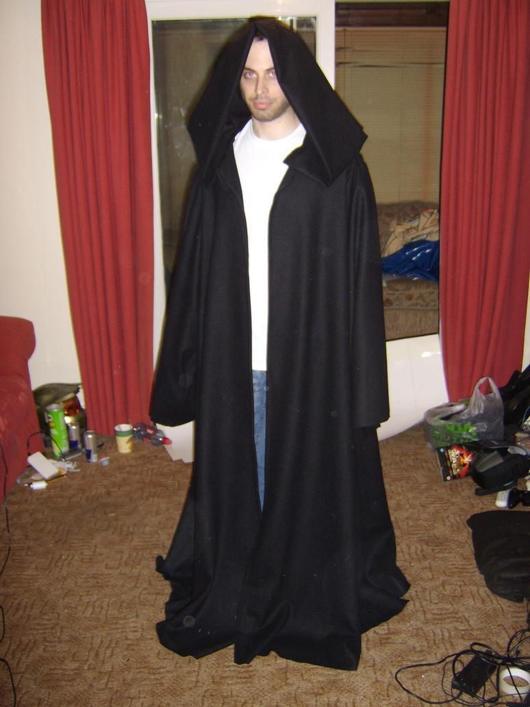Sith Warrior Cosplay Sith warrior robe by akumashadowcat