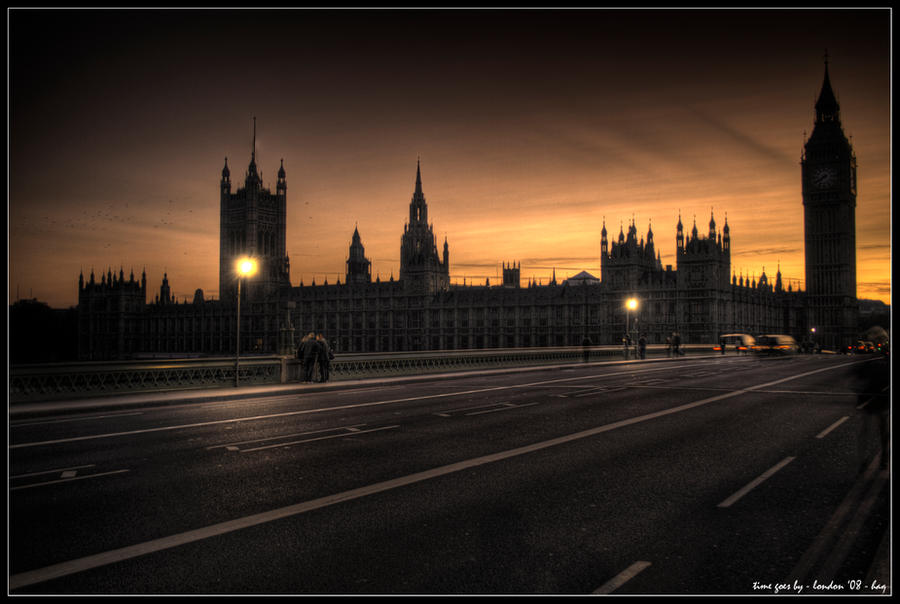 london - time goes by by haq