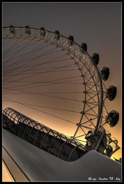 london - the eye by haq