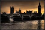 london - falling asleep