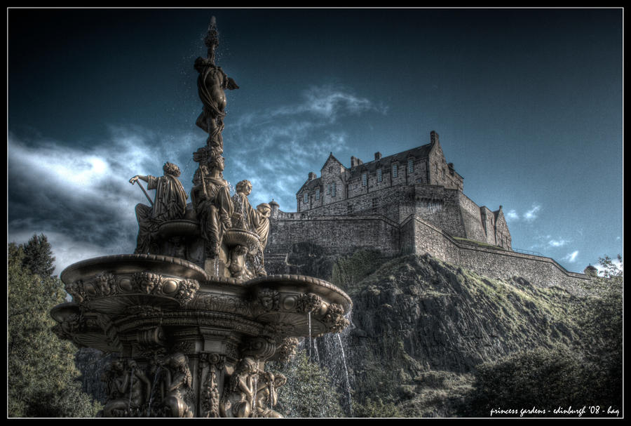 edinburgh - princess gardens by haq