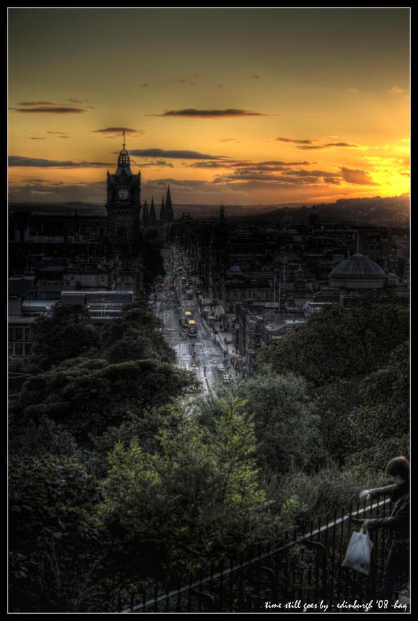 edinburgh - time still goes by by haq