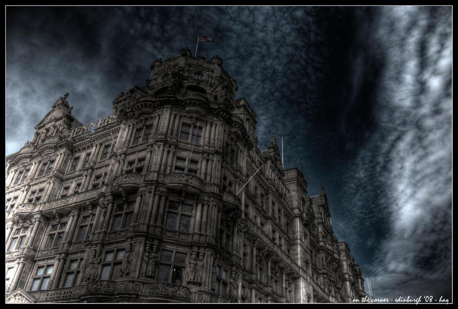 edinburgh - on the corner by haq