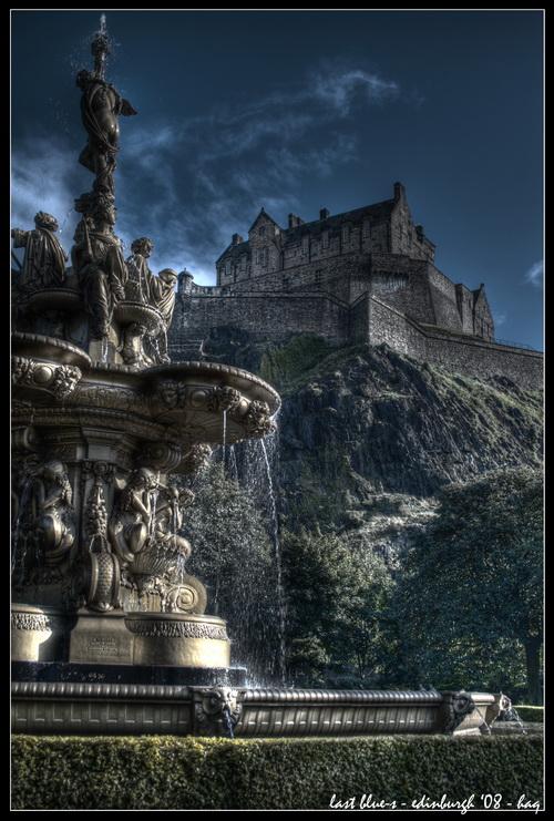 edinburgh - last blue-s by haq