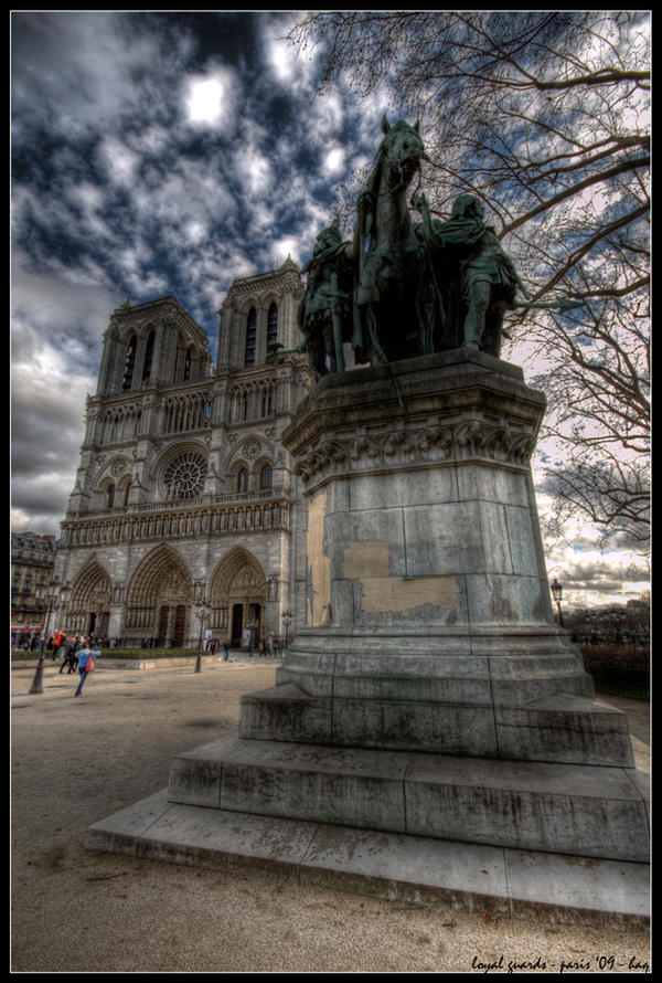 paris - loyal guards by haq