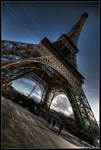 paris - la girafe by haq