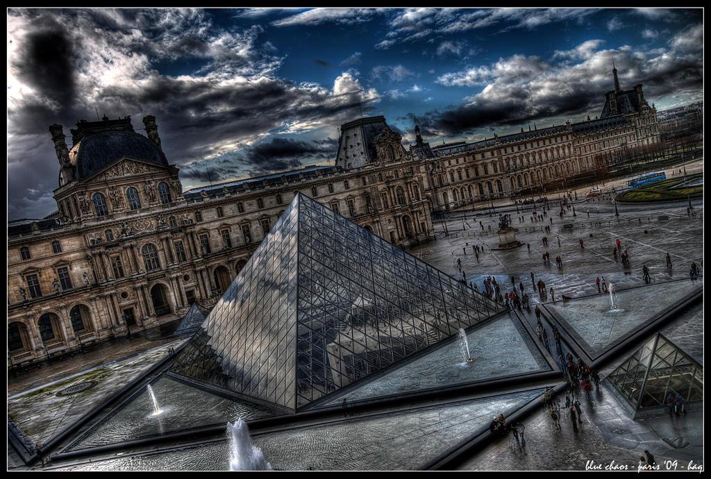 paris - blue chaos