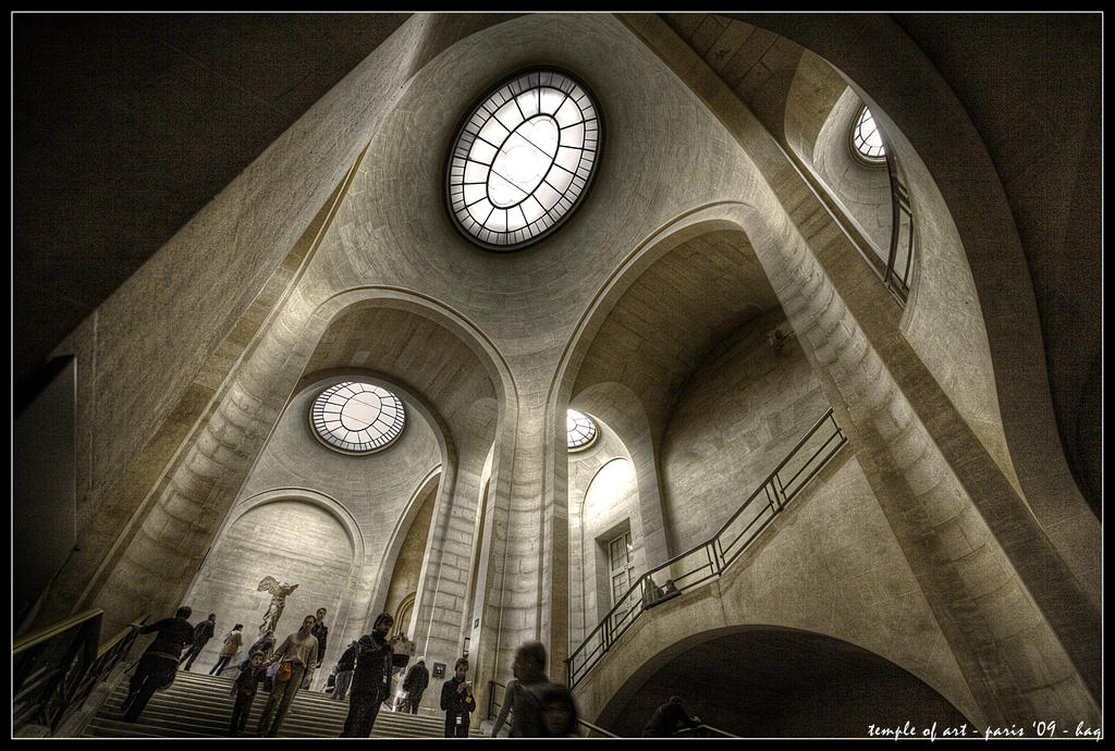 paris - temple of art by haq