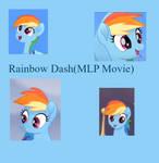 Rainbow Dash(MLP Movie)