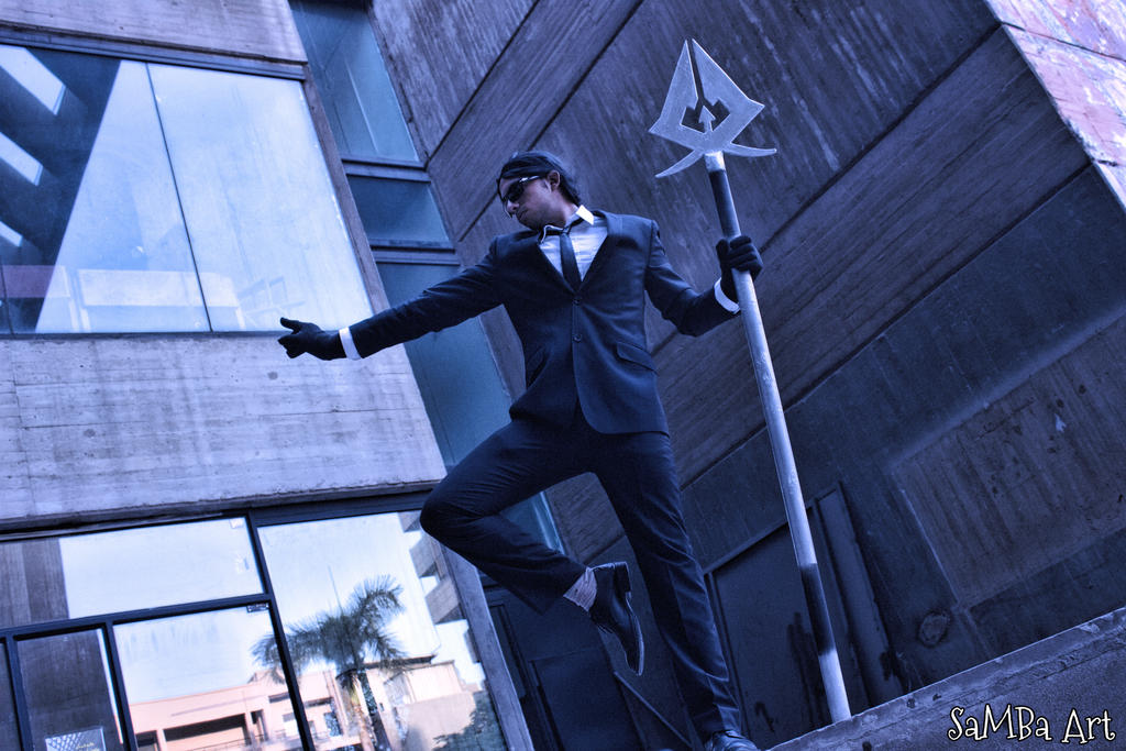 Secret agent Xin Zhao (LOL) Cosplay by SaMBa-Art on DeviantArt