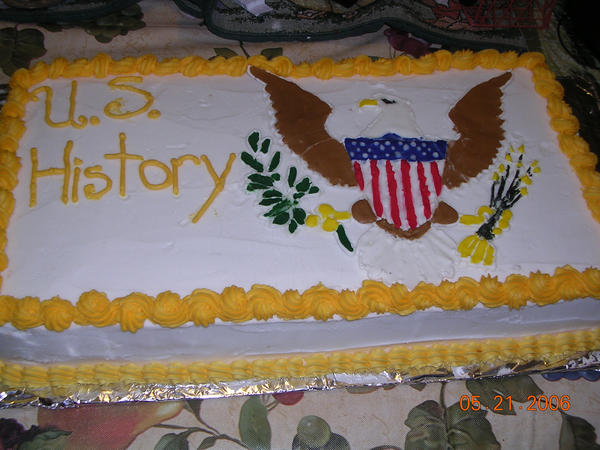 U.S. History Cake by susieluwho1000 on DeviantArt
