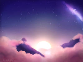 Pink in the Sky by Antama