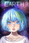 Earth-chan (+SPEEDPAINT)