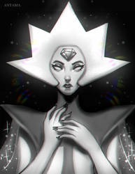White Diamond Fan art