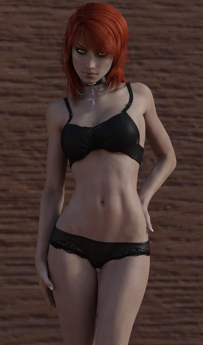 Hair and underwears by Sasha1378