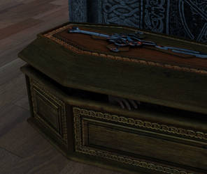 Still in the coffin by Sasha1378