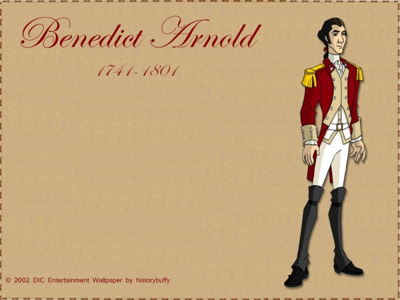 Benedict Arnold Wallpaper by Historybuffy
