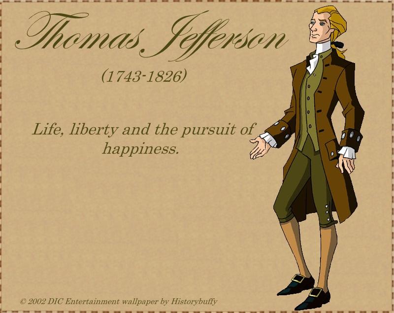 Thomas Jefferson Libertys Kids by Historybuffy