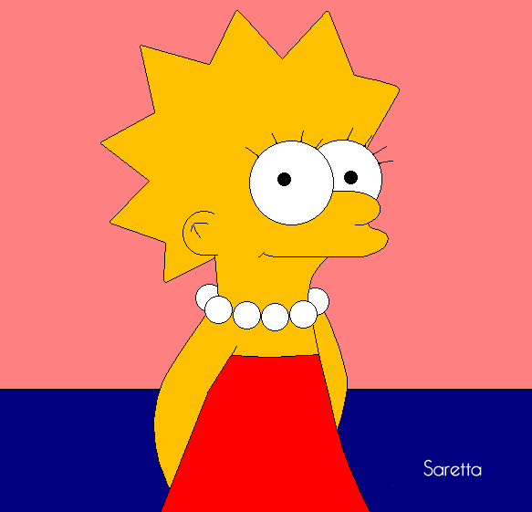 Lisa Simpson by Saerina