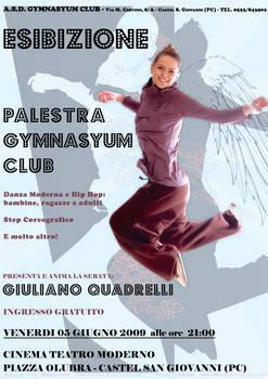 Dance Exhibition Advertising